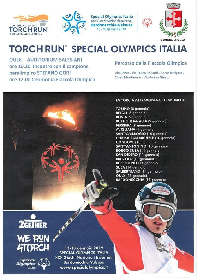 Torch run Oulx